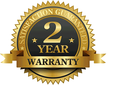 2 Year Warranty on termite treatments