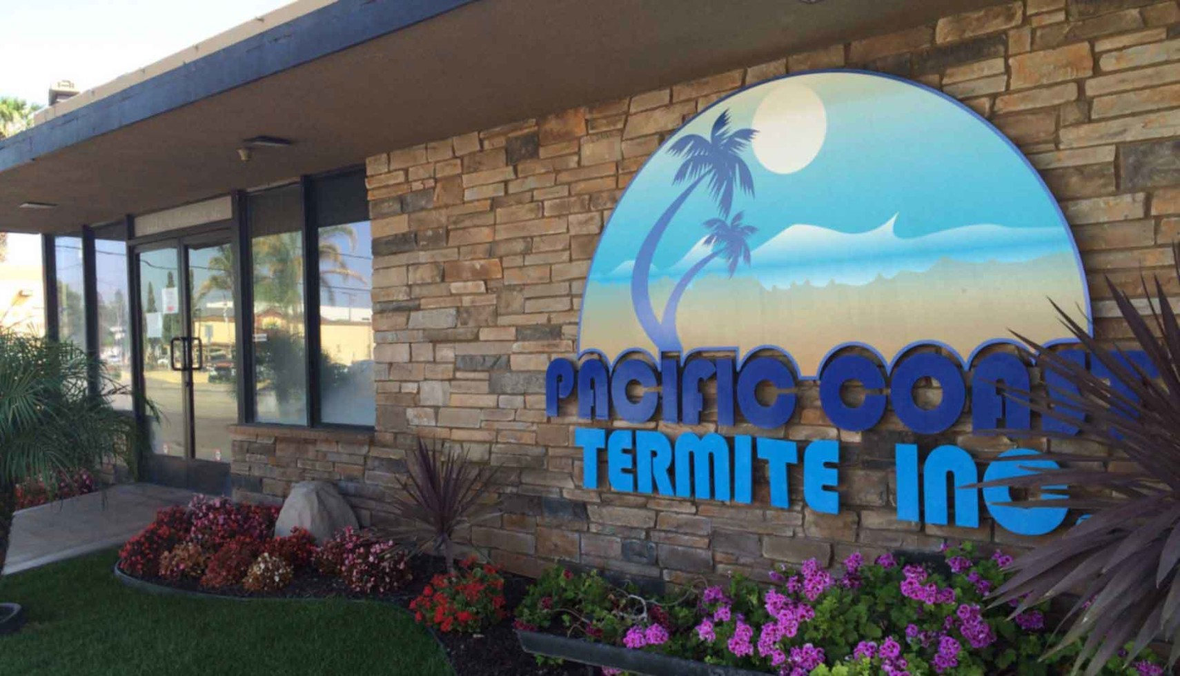 Pacific Coast Termite office sign