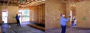 pretreat wood with bora care to prevent termites