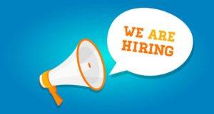 job openings - we are hiring